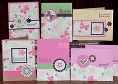 One Sheet Wonder, Stampin' Up!, Cards, Rubber Stamping    http://papercookies.blogs.splitcoaststampers.com/category/osw-one-sheet-wonders/