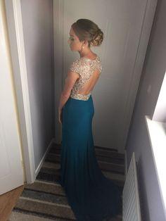 Prom Dresses, Formal Dresses, Backless, Fashion, Moda, Formal Gowns, La Mode, Black Tie Dresses, Fasion