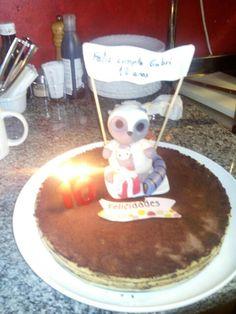 Creación miña para unha amiga ...a tarta fixoa a mami....eu o boneco ...
