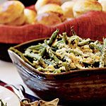 Green Beans with Toasted Walnuts and Breadcrumbs, Cooking Light, Nov. 2008 issue.