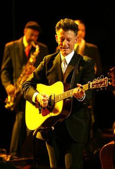 Lyle Lovett - cowboy and great musician