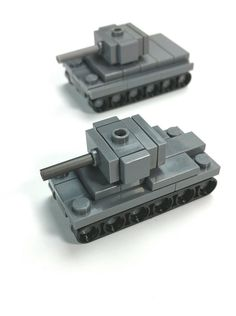Micro tanks. Guess which! | by Yitzy Kasowitz