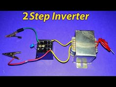 How To Make A Inverter 12v to 220v? - YouTube