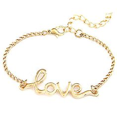 [XmasSale]Love Heart Charm Womens Link Chain Bracelet With Clasp – USD $ 1.79 http://www.miniinthebox.com/gold-plated-alloy-love-pattern-bracelet-assorted-colors_p640566.html?utm_medium=personal_affiliate&litb_from=personal_affiliate&aff_id=52433&utm_campaign=52433