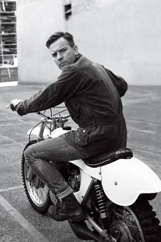 Ewan McGregor. I don't like this picture but I love him in moulin rouge with Nicole kidman