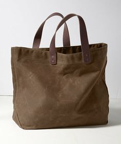 Love for a weekender.  Only the handles are leather which is a nice plus.  Going on my must-have list!