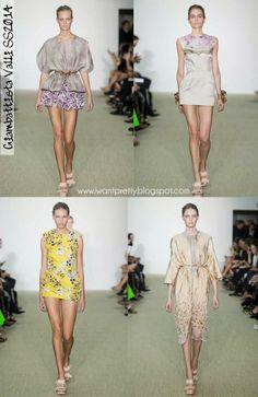 I want pretty: Paris Fashion Week Primavera-Verano 2014-Giambattista Valli.