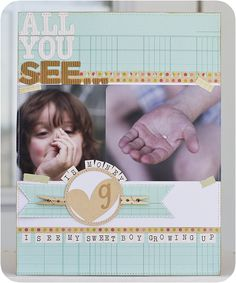 All You See ... - by Laura Craigie using Country Picnic, Sunnyside and Fresh Goods by Pebbles Inc.