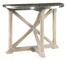 Product Gallery | Lillian August Hickory White Console Table
