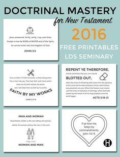 Lds Seminary Makeup Work New Testament | Makeupview co