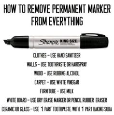 How To Remove Permanent Pen Easily | The WHOot