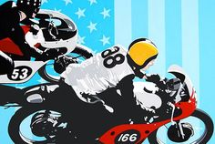 Vintage Racers: Conrad Leach Art gallery