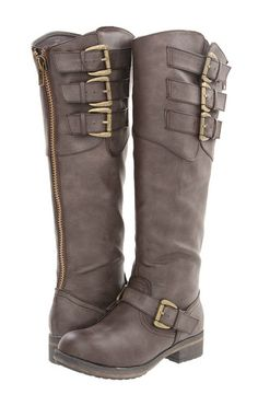 "Steve Madden Girl New ""Lundunn"" Brown Knee High Tall Buckle Riding Boots Sizes   eBay 79.95"