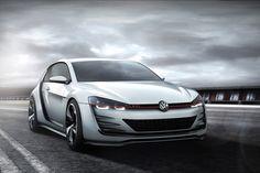 Volkswagen dévoile un nouveau concept la Golf GTI Design Vision