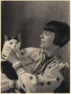 10 Delightful Photos Of Famous Artists And Their Cats | Co.Design | business + design