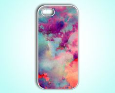 Watercolor Cloud iPhone 5 Case iPhone 5 Cover Unique iPhone 5 Case Designer iPhone 5 Case. $14.99, via Etsy.