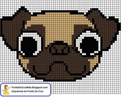 Brilliant Cross Stitch Embroidery Tips Ideas. Mesmerizing Cross Stitch Embroidery Tips Ideas. Cross Stitch Fabric, Cross Stitch Charts, Cross Stitching, Cross Stitch Embroidery, Embroidery Patterns, Cross Stitch Patterns, Pug Cross, Modele Pixel Art, Pearler Bead Patterns