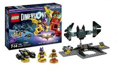 Lego Dimensions The Lego Batman Movie Story Pack (Robin, Batgirl, Batwing, Bat-Computer toy pad custom, and 6-level story campaign included)