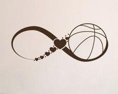 FREE SHIPPING Love Basketball Wall Decals by DecalMyHappyShop