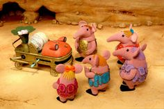 CLANGERS THE KNITTIN
