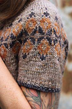 Yanis pattern by Isabell Kraemer – knitting sweaters diy Fair Isle Knitting Patterns, Knitting Blogs, Knitting Stitches, Knit Patterns, Knitting Projects, Hand Knitting, Knitting Blankets, Beginner Knitting, Ravelry