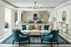 The House Blues: Aqua and Turquoise. | ZsaZsa Bellagio - Like No Other