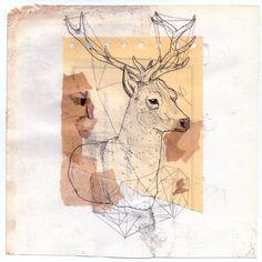 deer, paper inspiration