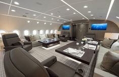 Inside the Swanky $300 Million Boeing 787 Private Business Jet #privatejet
