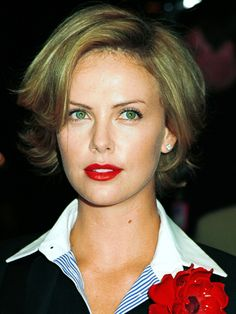 Short Hair - Charlize Theron