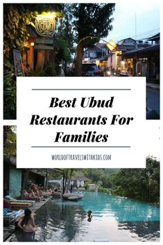 Looking for some delicious recommendations for Ubud Restaurants? we have some really tasty selections! And, if you are traveling with the family, we provide our experiences of eating at these Ubud Restaurants with Kids. Bali With Kids, Travel With Kids, Family Travel, Bali Travel Guide, Asia Travel, Travel Tips, Bali Restaurant, Best Of Bali, Ultimate Travel