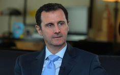 President Bashar Assad said Western support for Syrian rebel groups has backfired and lies behind the attacks in Paris last week that left 17 people dead. Assad's government has repeatedly characterized its opponents as foreign-backed terrorists and extremists since peaceful demonstrations against his rule broke out in March 2011.