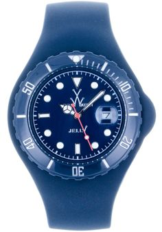 Price:$92.50 #watches ToyWatch JTB19DB, Plastic case, Silicone strap, Dark blue dial, Quartz movement, Scratch-resistant mineral, Water resistant mineral, Water resistant up to 5 ATM - 50 meters - 165 feet Swatch, Watch Brands, Plastic Case, Accessories Shop, Rolex Watches, Jelly, Quartz, Toys, Beauty