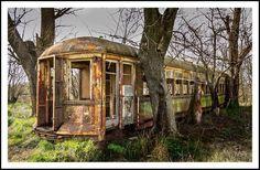 Un coche serie 3100 del servicio suburbano del FCGU que circularon hasta el año '74 en dicho ferrocarril. Argentina