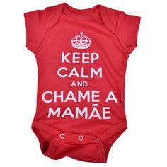 Body Bebê Frase Divertido Keep Calm