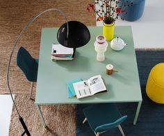 Novamobili Design Quadratischer Tisch Filo in 20 Farben