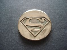 Superman custom golf ball marker