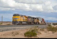 RailPictures.Net Photo: UP 8266 Union Pacific GE ES44AC at Araz, California by J. W. Husband