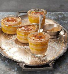 Mango-Karamell-Schichtspeise Rezept - [ESSEN UND TRINKEN]
