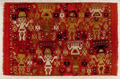 Museo Chileno de Arte Precolombino » Tapiz. Repinned by Elizabeth VanBuskirk