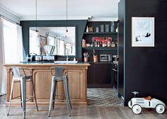 Un appartement alliant un design classique à un design moderne - Marie Claire Maison