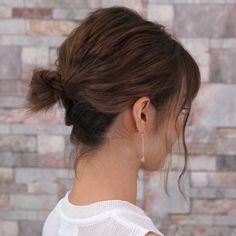 【ボブでもおだんご出来るんだ】 ボブヘアだって色んな髪型楽しみたいよね Hair Makeup, Tattoos, Hair Styles, Hair, Hair Plait Styles, Tatuajes, Tattoo, Party Hairstyles, Hairdos