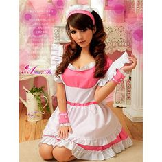 Spring Spa, Maid, Style Me, Girly, Cosplay, Summer Dresses, Sexy, Cute, Model