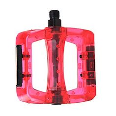 PlasticSteel Red Bicycle Pedals >>> Click image for more details.