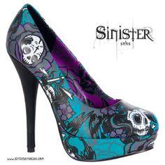 Skull Heels!!
