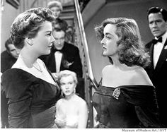 """Anne Baxter, left, and Bette Davis in the 1950 film, """"All About Eve."""""""