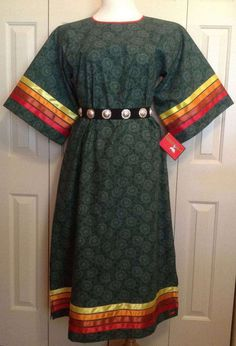 Native American Regalia, Native American Clothing, Native American Fashion, Native Fashion, Jingle Dress, Ribbon Skirts, T Dress, Leather Dresses, Indian Outfits