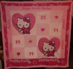 Hello Kitty blanket! FARRAH NEEDS THIS!