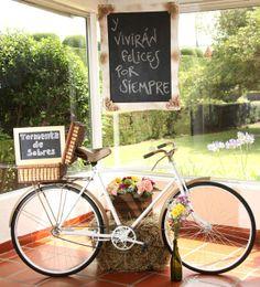 Bicicleta vintage www.docebodas.com