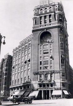 Palacio de la Prensa. Gran Vía. Madrid, 1935