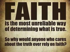 "Because they think it's their ticket to eternal life...A physical impossibility! Faith is required to ""believe"" in physical impossibilities! It's what makes the physically impossible seem possible...It's a trick only a child would fall for! Believers think they have the truth...That's where they get the name! gwabi"